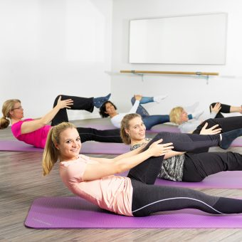 Fit mit Pilates